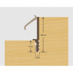 Compex CPX/S/25 Gasket - Brown 45 Metre Coil (270 Metres Per Box)