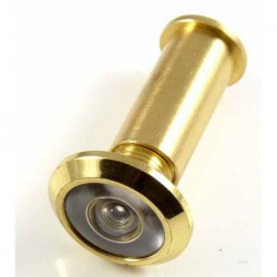 180 Degree Brass Door Viewer