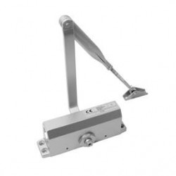 Overhead Door Closer Size 3 -Silver