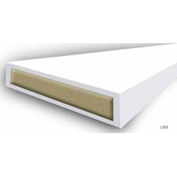 30 Minute Intumescent Fire Only - Strip 15mm x 4mm x 2100mm - White