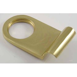 Rim Cylinder Pull Polished Brass