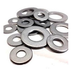 M8 Form A Washers - Zinc Plated