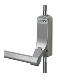 Exidor 294 Reversible Single Panic  - Bolt -Silver Suitable For Doors Max - 2440mm High & 1400mm Wide BSEN1125