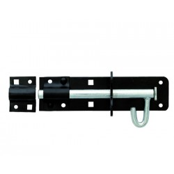 150mm Brenton Padlock Bolt - Black