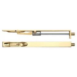 200mm Lever Action Flush Bolt Polished Brass