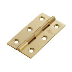 102mm Solid Drawn Brass Butt Hinges