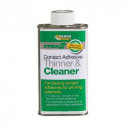 Everbuild Contact Adhesive Thinner & Cleaner - 2.5 Litre