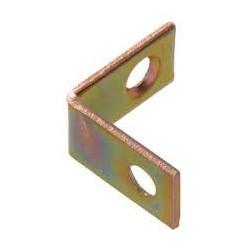 "1"" x 1"" Corner Braces - Zinc Plated"