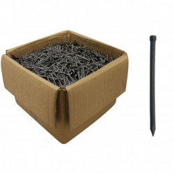 65mm x 3.35mm Bright Steel Lost Head Nails - 1 Kilo Pack (All In 25 Kilo Boxes But Split)