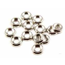 Number 8 Surface Screw Cup - Nickle Plated