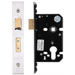 64mm Euro Profile Mortice Sashlock  Casec/w 48mm Backset & 48mm Centres - S.S.S.