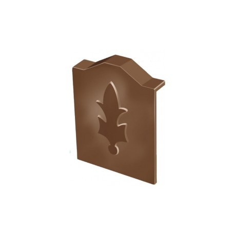 Exitex 40mm Capex Plastic Extended End Cap Brown