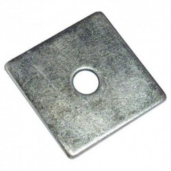 M12 x 50mm Square Plate Washers - Zinc Plated