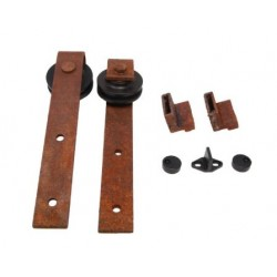 P C Henderson R80 Rustic Black Additional Door Fitting Kit