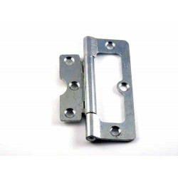 50mm Zinc Plated Flush Hinges