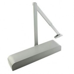 Overhead Door Closer Size 2-4 Silver