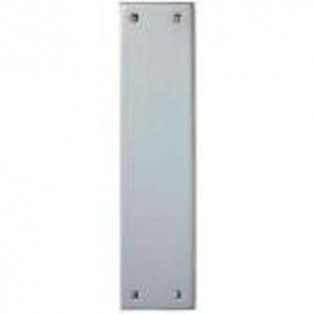 305mm x 75mm x 1.5mm Push Plate Satin Stainless Steel
