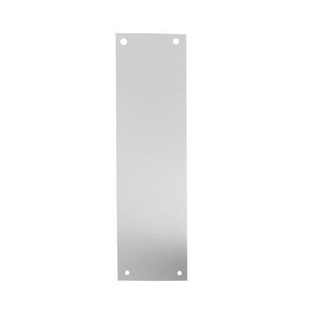350mm x 75mm x 1.2mm Finger Push Plate S.S.S.