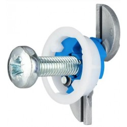 Gripit Blue 25mm Plasterboard Fixings (4 Per Pack)