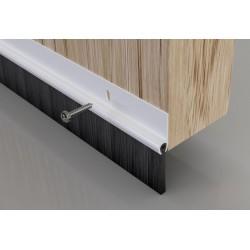 Stormguard White Bottom Door Brush Strip