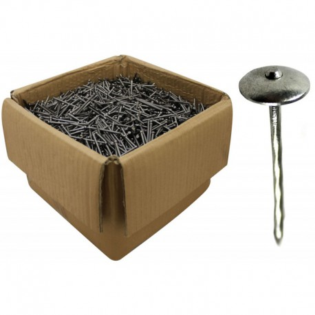 65mm Galvanised Springhead Nails 3.35mm Gauge 10kg