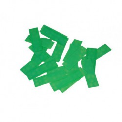 Green Plastic Glazing Frame Packer 100mm x 28mm x 1mm