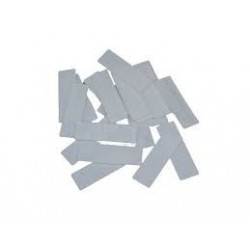 White Plastic Glazing Frame Packer 100mm x 28mm x 3mm