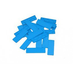 Blue Plastic Glazing Frame Packer 100mm x 28mm x 5mm