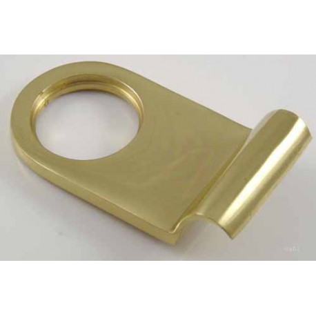 Jedo Rim Cylinder Pull Polished Brass