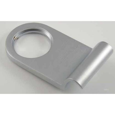 Jedo Rim Cylinder Pull Satin Chrome