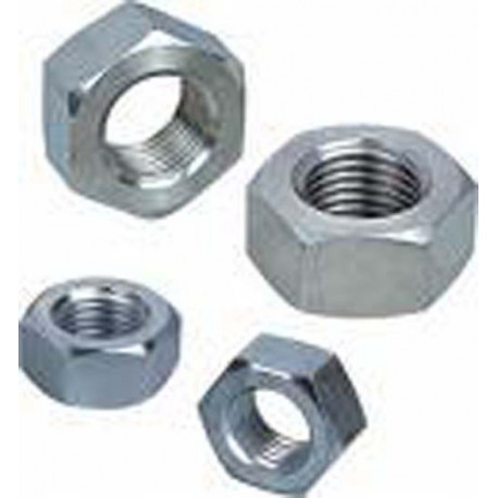 M16 Full Hex Nut Zinc Plated