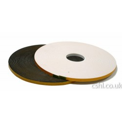SDG 2mm x 13mm Double Sided PVC Security Tape Black