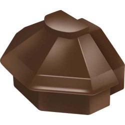 Exitex Cresfinex MK4 Radius End Cap Brown