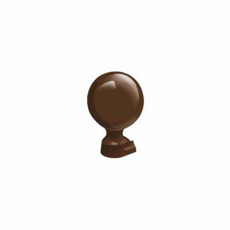 Exitex Cresfinex MK2 & MK4 125mm Ball Finial Brown