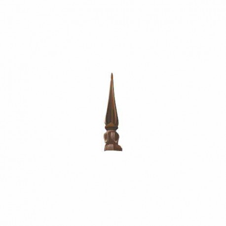 Slide in Tulip Finial MK2-4 White