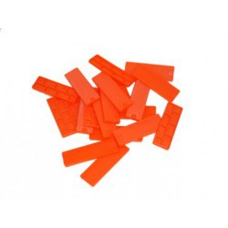 Red Plastic Glazing Frame Packer 100mm x 28mm x 6mm