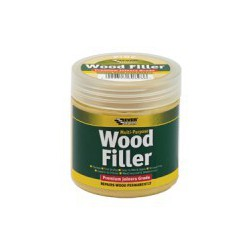 Everbuild Mahogany 2 Part Wood Filler High Performance 500g