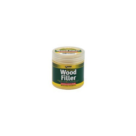 Everbuild Mahogany 2 Part Wood Filler High Performance 500g