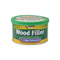 Everbuild White 2 Part Wood Filler High Performance - 1.4kg