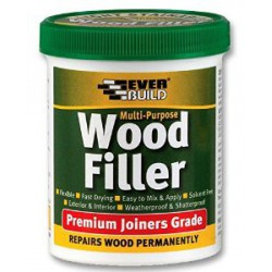 Everbuild Multi Purpose Wood Filler Premium Joiners Grade 1 Part 250ml