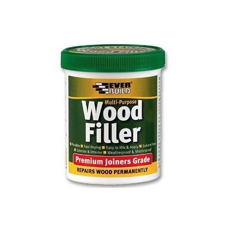 Everbuild Mahogany Multi Purpose Wood Filler Premium Joiners Grade 1 Part 250ml