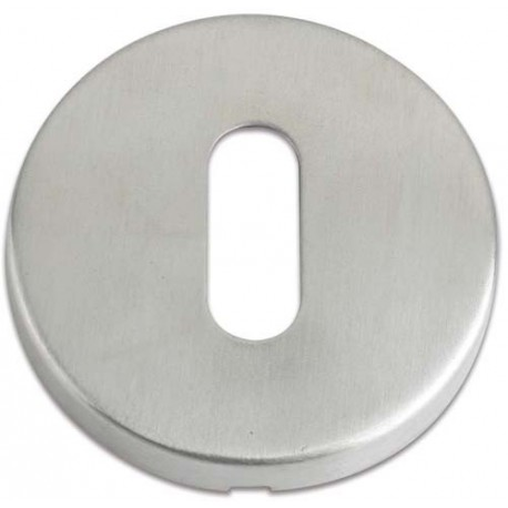 Oval Profile Escutcheon Satin Stainless Steel