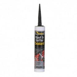 Everbuild Roof & Gutter Sealant C3 Cartridge - Black