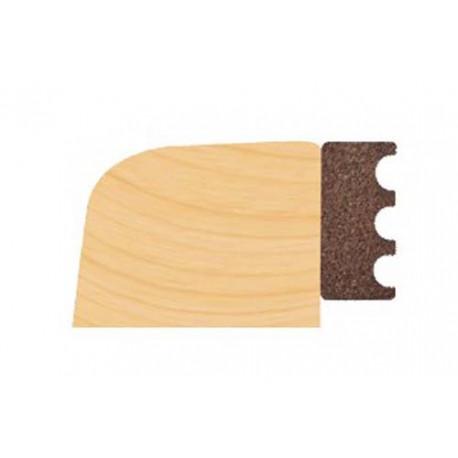 EPDM 4mm x 10mm Timber Dry Glazing Tape `M' Profile 125m Roll Black