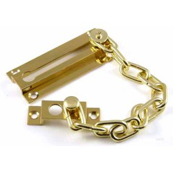 Polished Brass Safety Door Chain