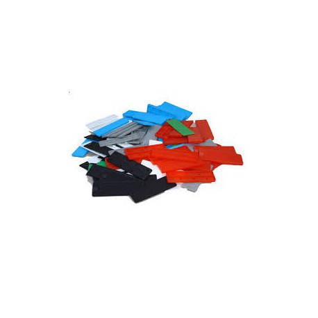 100mm x 28mm Mixed Frame Packers c/w 1mm 3mm 5mm & 6mm Thickness (200 Per Pack)