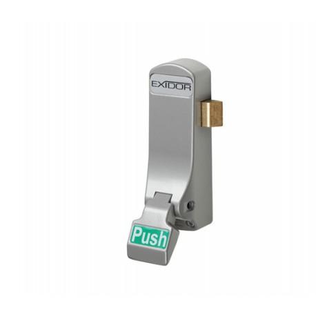 Exidor 297 Single Panic Push Pad Silver