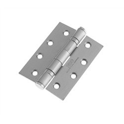 Grade 13 Ball Bearing Butt Hinge 100mm x 75mm x 3mm Satin Stainless Steel
