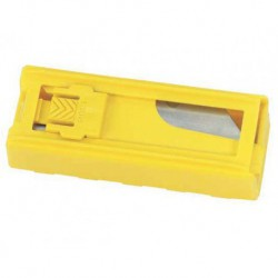 Stanley Knife Blade Dispeneser (10 Blades Per Pack)