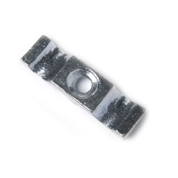 51mm Shed Turn Button - Bright Zinc Plated